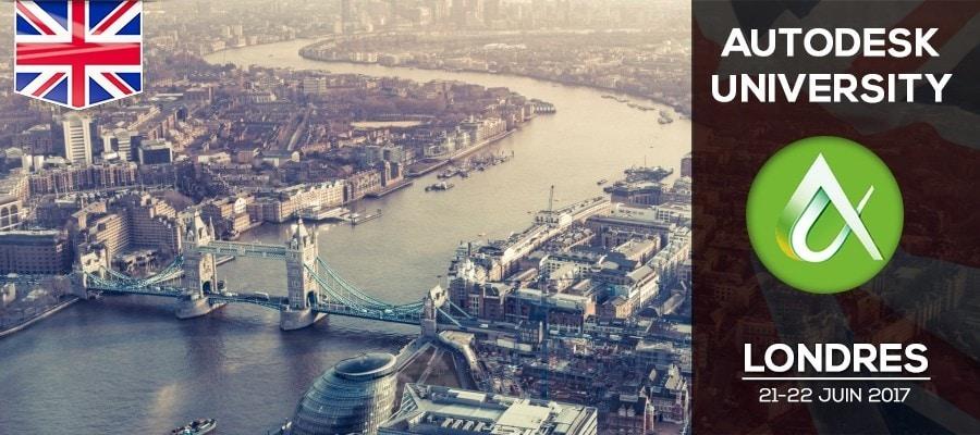 Autodesk University 2017 arrive à Londres