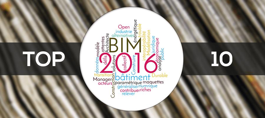 Les 10 articles BIM qu'il ne fallait pas manquer cette année