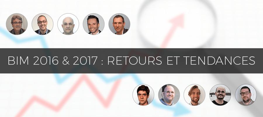 10 experts BIM nous livrent leurs retours sur 2016 et les tendances en 2017