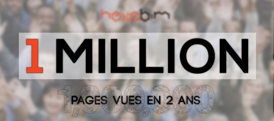 HEXABIM : 1 million de pages consultées en deux ans !