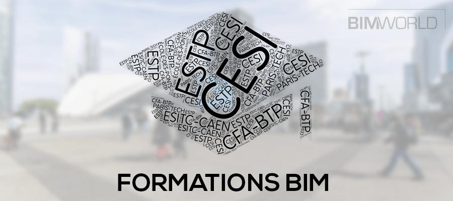 BIM World 2017 : Rencontrer les écoles et trouver sa formation BIM