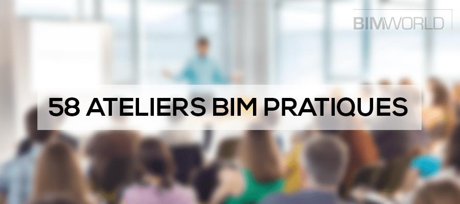 Le BIM de la conception à l'exploitation : 58 ateliers pratiques