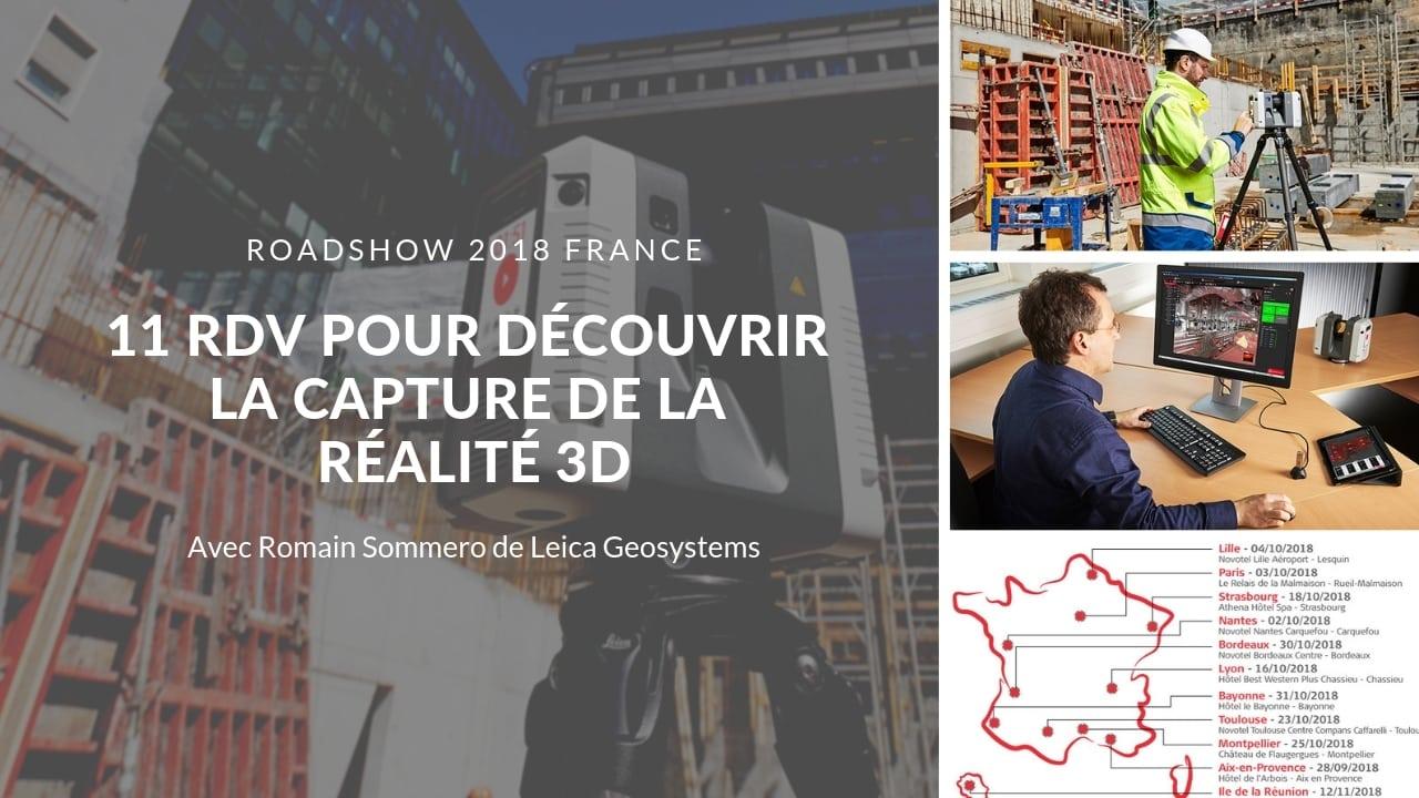 11 RDV pour découvrir la capture de la Réalité 3D avec Romain