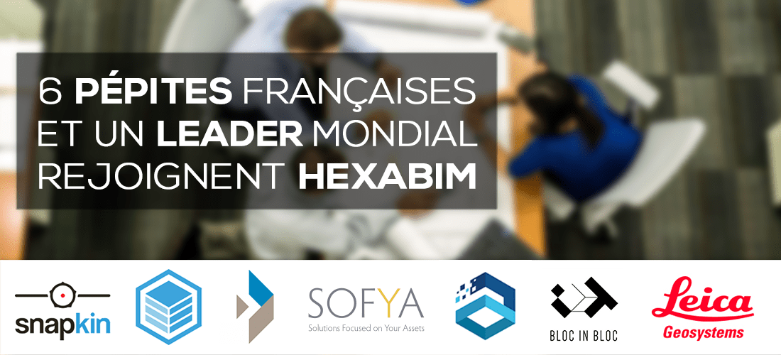 6 French Nuggets and a World Leader join the HEXABIM Platform