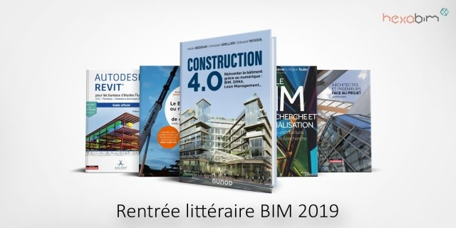 Back to school: the 5 books BIM of the 2019