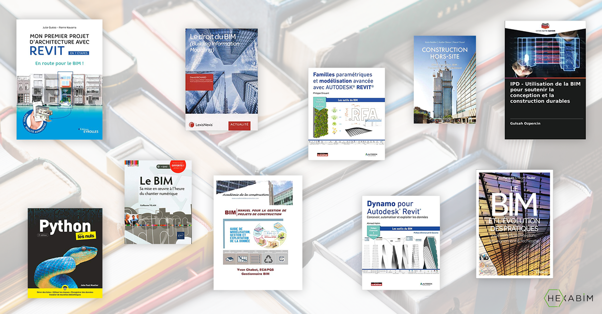 A selection of 11 BIM books for your summer reading