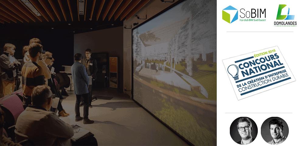 La technopôle DOMOLANDES : Un concours national, un espace de construction virtuelle unique et un club BIM très bientôt !