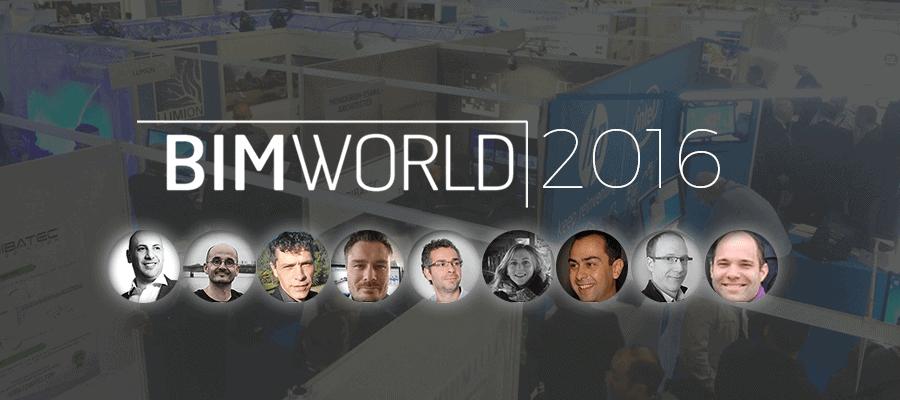 BIM World 2016 : ce que pensent les professionnels et spécialistes du BIM