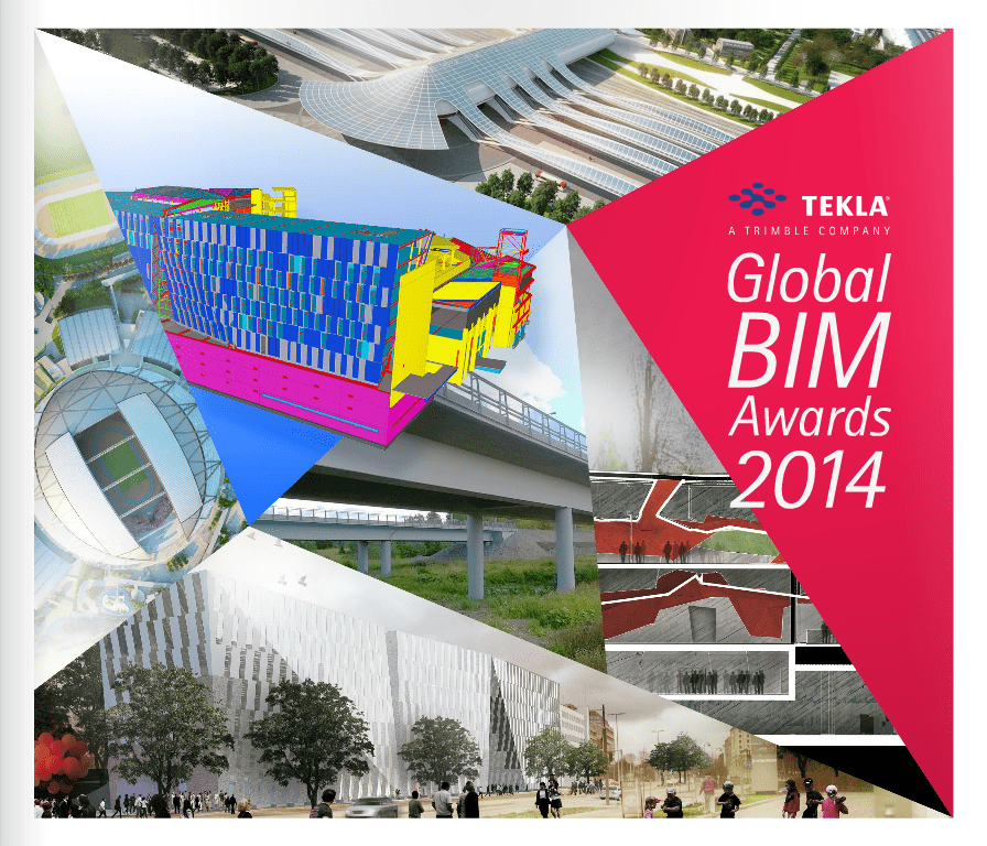 Découvrez les 14 finalistes du Tekla BIM Awards 2014