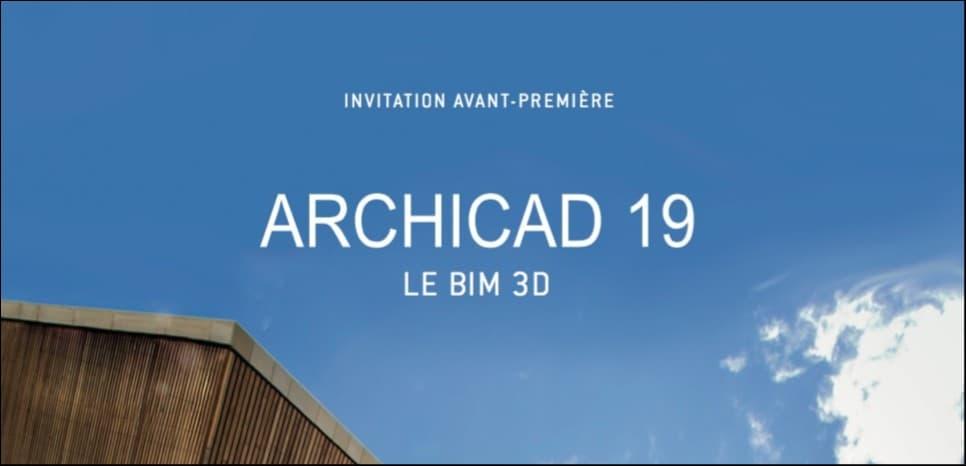 10 villes et 7 dates pour découvrir ArchiCAD 19 en avant première