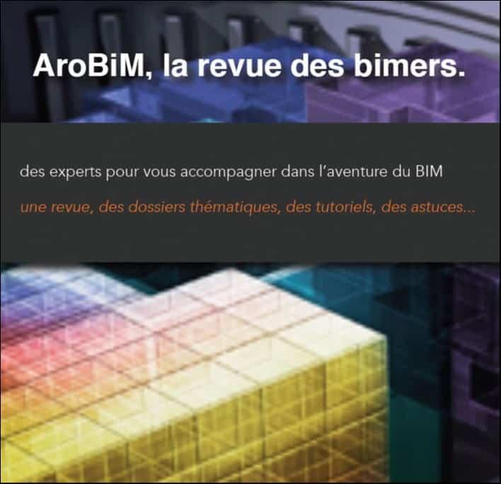 AroBIM, la revue pratique du BIM