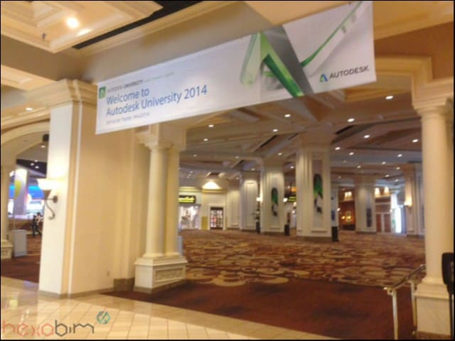 Autodesk university en direct (ou presque) de Las Vegas