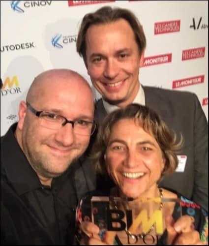 Félicitations aux lauréats du BIM d'Or 2015 ! BRAVO !