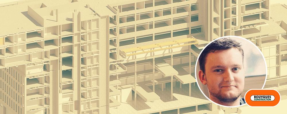 Membre de la semaine : Floris HERBERT, projeteur Revit chez Bouygues Construction