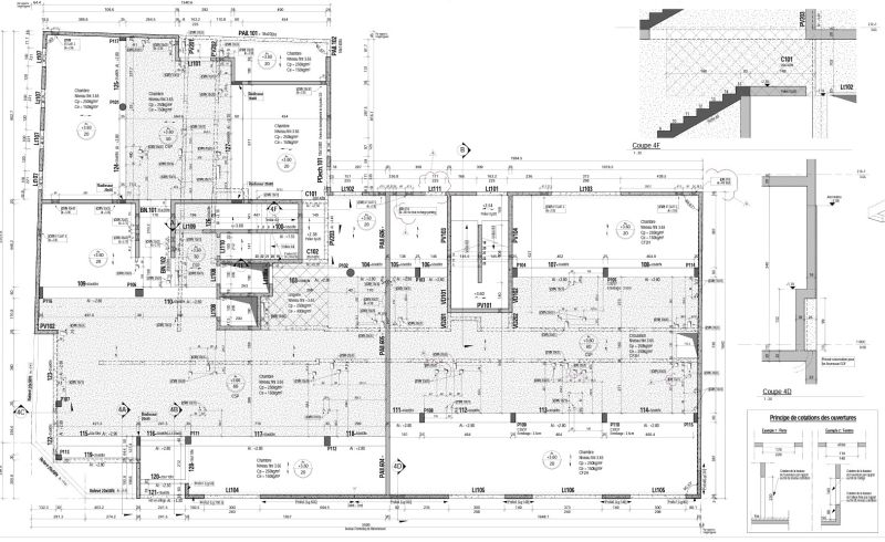r ussir les plans exe sous revit malgr ses d fauts le blog hexabim. Black Bedroom Furniture Sets. Home Design Ideas