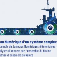 """Séminaire """"Vision et utilisation du jumeau numérique,  présentation de la société Naval Group"""" - 20 janvier de 17h à 18h30 en digital."""
