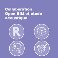 Collaboration Open BIM et étude acoustique