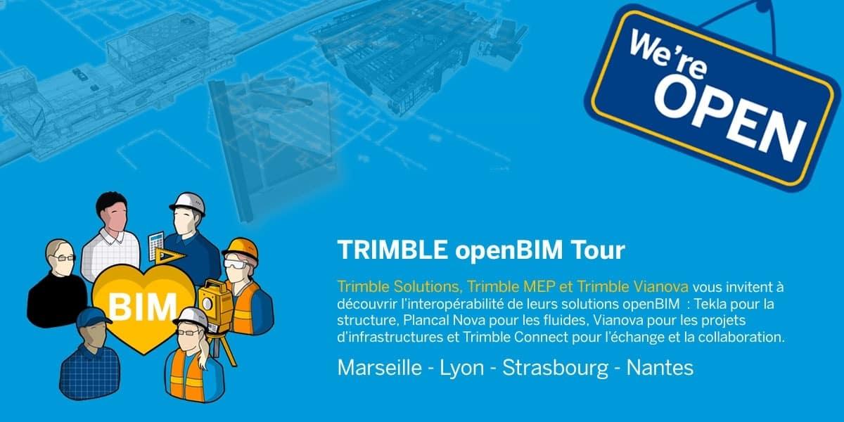 Trimble openBIM Tour | Marseille