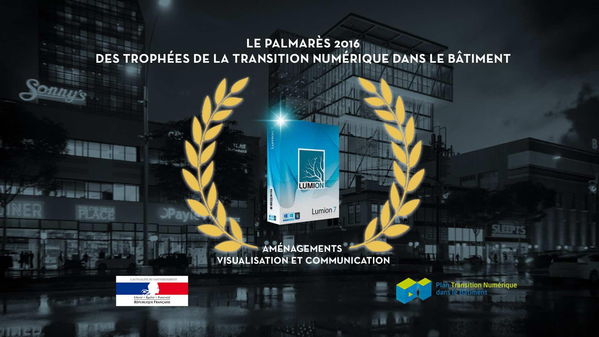 Trophées de la Transition Numérique dans le Bâtiment en 2016 -