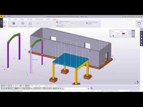 Tekla Strucutres 2017 & Robot Structural Analysis 2017 lien bi directionnel