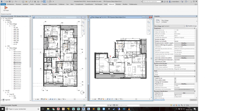dynapps decoupe mon plan d'etage en appartements
