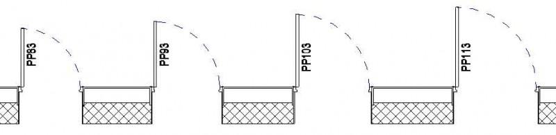 t l charger porte 1 vantail cadre paisseur constante. Black Bedroom Furniture Sets. Home Design Ideas