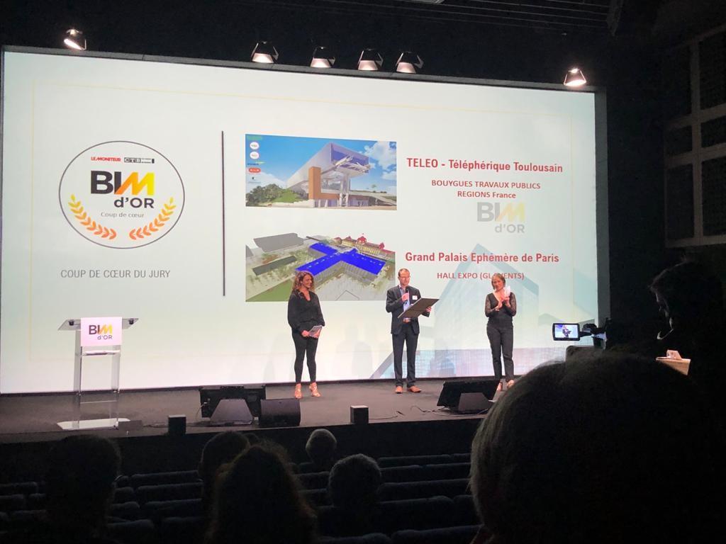 Découvrez les 9+2 lauréats du BIM d'Or 2021