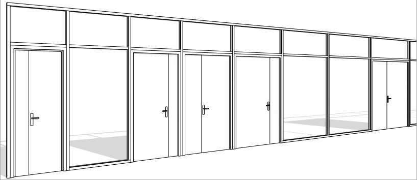 revit mur rideau maison image id e. Black Bedroom Furniture Sets. Home Design Ideas