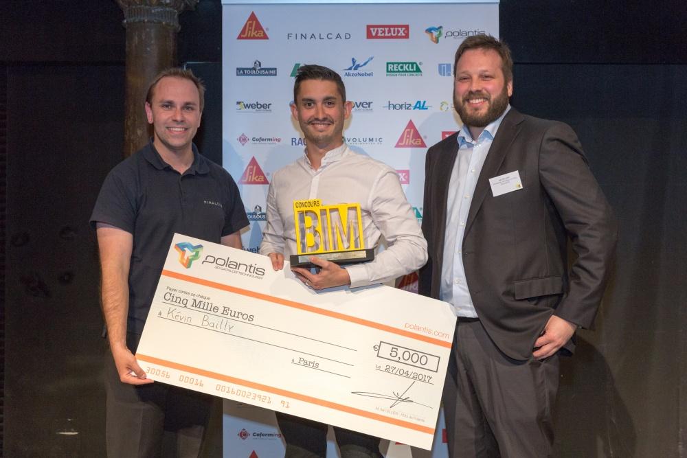 Bravo aux lauréats du Concours BIM 2017