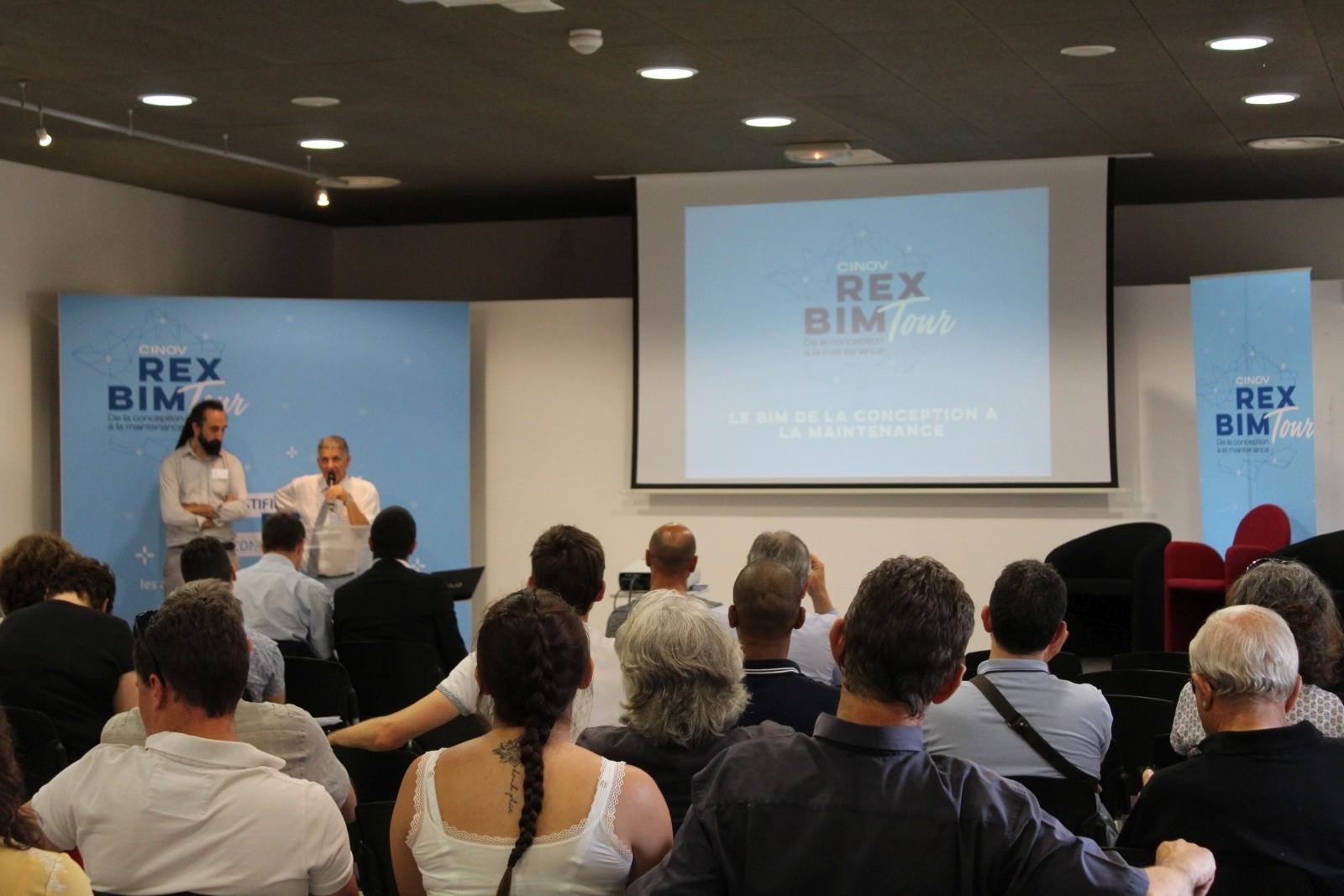 Le REX BIM Tour 2019 en quelques photos - Fédération CINOV
