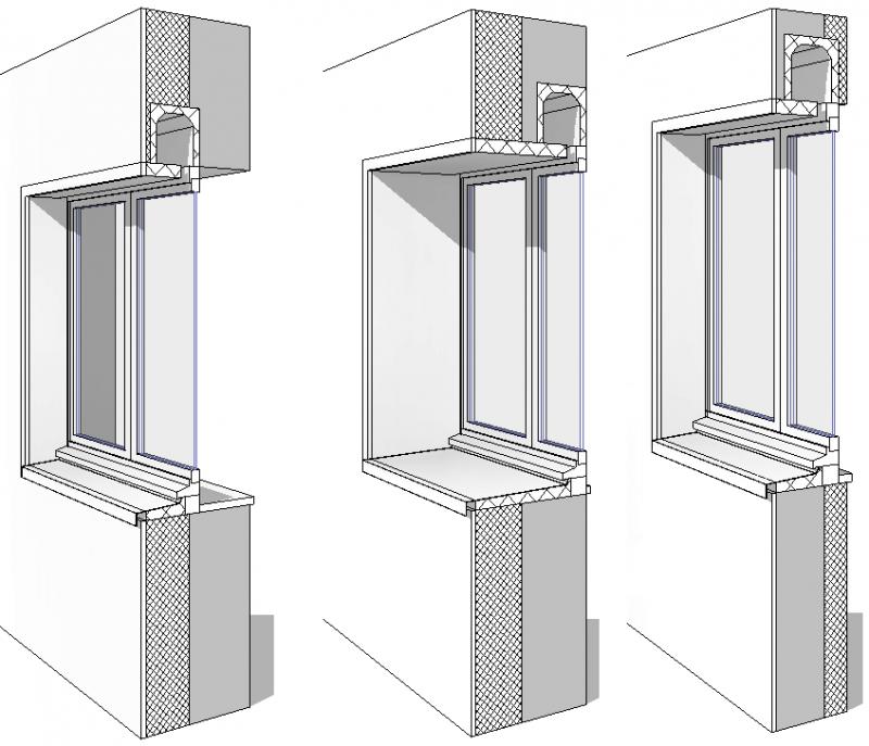 T l charger porte fen tre 2 vantaux ouvrant et embrasure param trables sans seuil format for Format fenetre