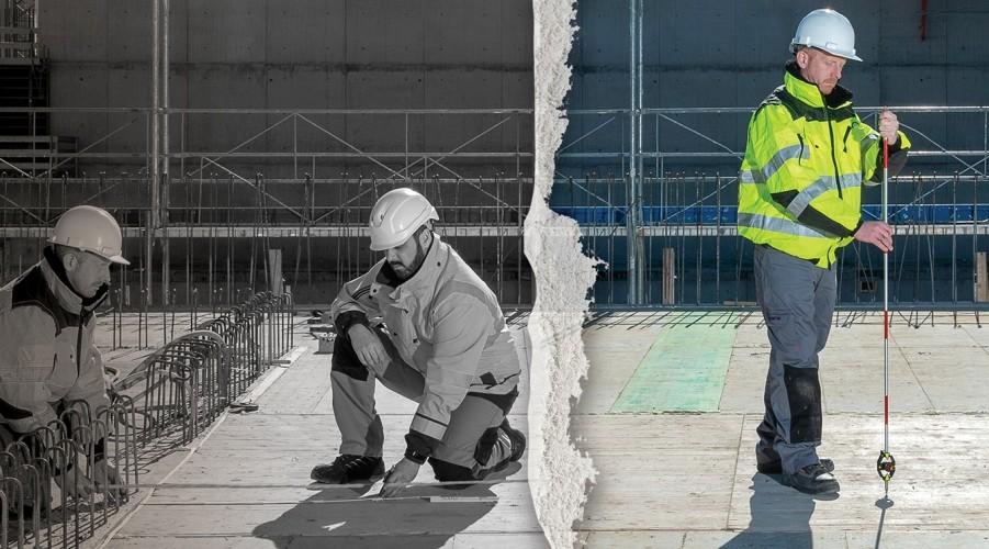 Mesure et d'implantation numériques sur chantier : Deux nouvelles innovations de Leica Geosystems