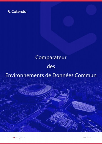 Comparateur d'Environnements de Données Commun