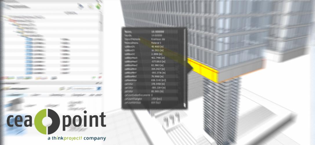 Le spécialiste allemand de la gestion et la coordination BIM, CEAPOINT,  rejoint think project!
