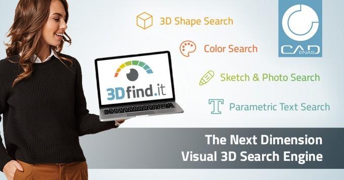 Top départ pour 3Dfind.it, le nouveau moteur de recherche visuel de composants 3D BIM
