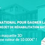Bailleurs, collectivités et industriels : Gagnez la maquette numérique de votre bâtiment avec OP3D !