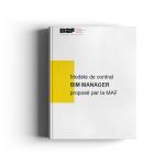 Modèle de contrat BIM Manager