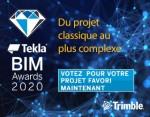 Votez maintenant pour les Tekla Global BIM Awards 2020