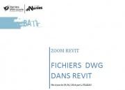 Zoom REVIT - Tutoriel fichiers DWG