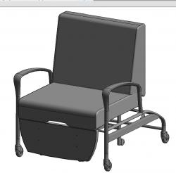 Chaise - Dormeur (Pour un fabricant canadien)