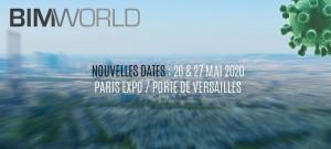 Report du salon BIM World 2020