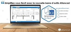Atlancad lance Kronoss - une nouvelle barre d'outils pour Revit