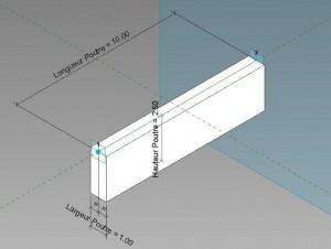 Ensemble Poutres & Quadrillage adaptatifs pour tablier de pont en trapèze et en pente
