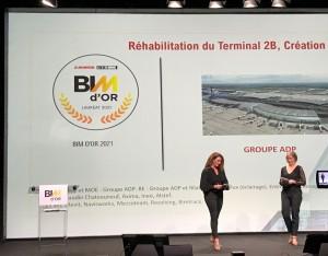 Le BIM d'Or 2021 est un projet géré avec la plateforme collaborative Mezzoteam !