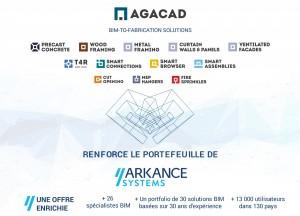 AGACAD rejoint ARKANCE, le leader européen de la transformation numérique de la Construction et de l'Industrie