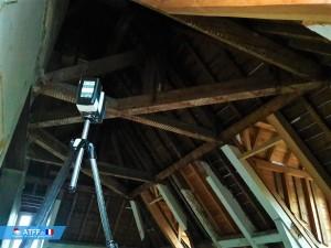 ATFF - Relevé laser pour un projet de rénovation Héraultais