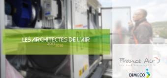 Plus de 50 produits France Air disponibles sur la plateforme BIM&CO