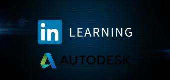 Accèder à ces 8 formations gratuites en ligne par Autodesk et Linkedin
