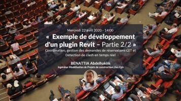 Exemple de développement d'un plugin Revit : Coordination, gestion des réservations CET et détection des clash