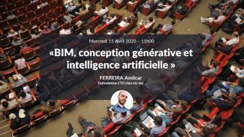 BIM, conception générative et intelligence artificielle avec Amilcar Ferreira